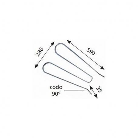 Compresor Tecumseh E4425Z R404 Temperatura Motor 424cc 220/240v